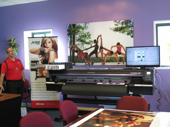 Mimaki Mini-Expo Hits the Spa City - WhatTheyThink