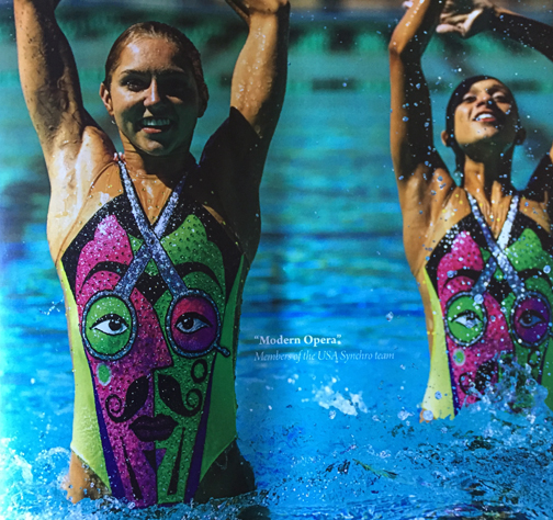 Dye Sublimation Printing Helps The Usa Synchronized Swim Team Swim