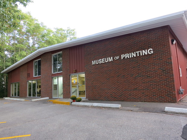 The Museum Of Printing Exhibits Its One Of A Kind Collection In A