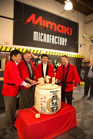 Mimaki Celebrates Grand Opening of Midwest Region Technology Center