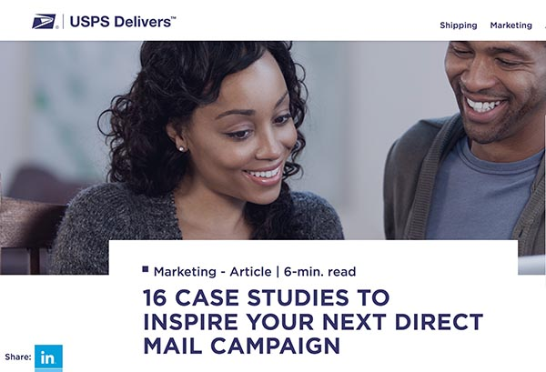 Case Studies for Inspiring Direct Mail: Demand Generation Well Done
