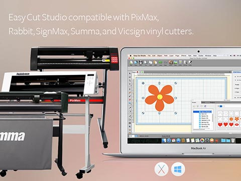 Easy Vinyl Cutter Software Now Compatible with Summa, PixMax