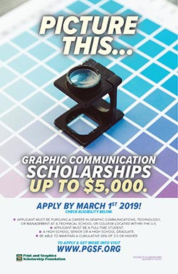 saddleback college student wins the 2018 pgsf college poster design