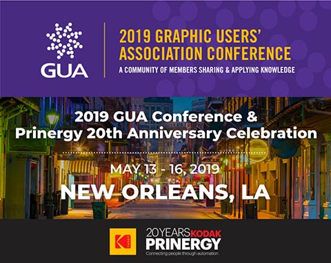 2019 GUA Conference Celebrates 20 Years of KODAK PRINERGY