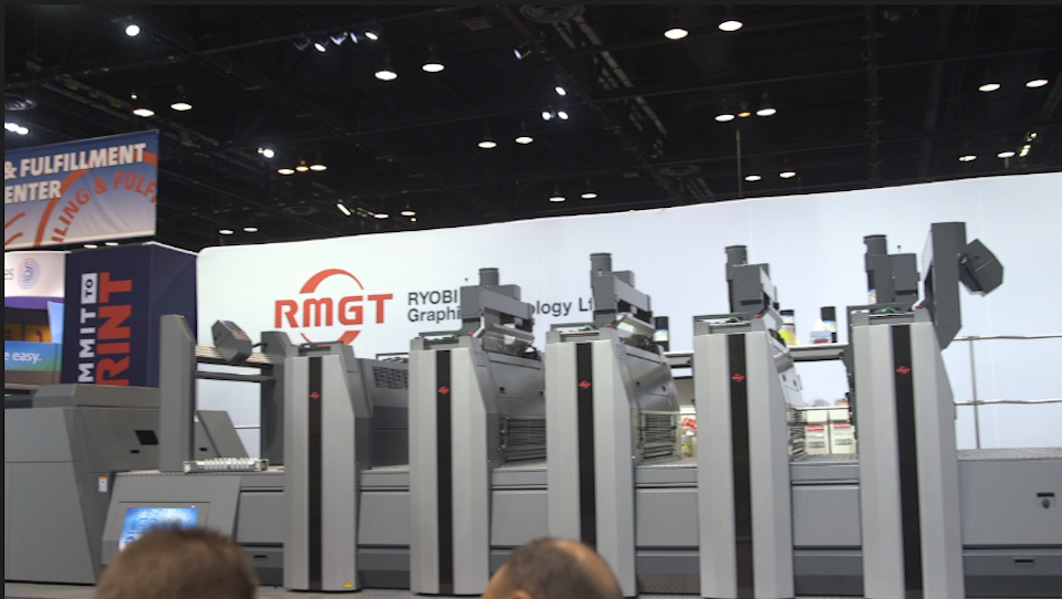 Video preview: RMGT 9 Series 8 Color Perfecting Press Live at PRINT 17